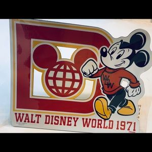 Mickey Mouse Varsity car magnet